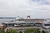 View from Westin Halifax room. Queen Mary II.