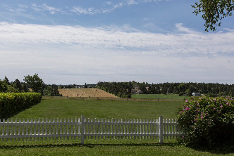 Lucy Maud Montgomery lived near here - wrote Anne of Green Gables