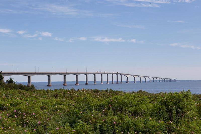 View from Nova Scotia to Prince Edward Island