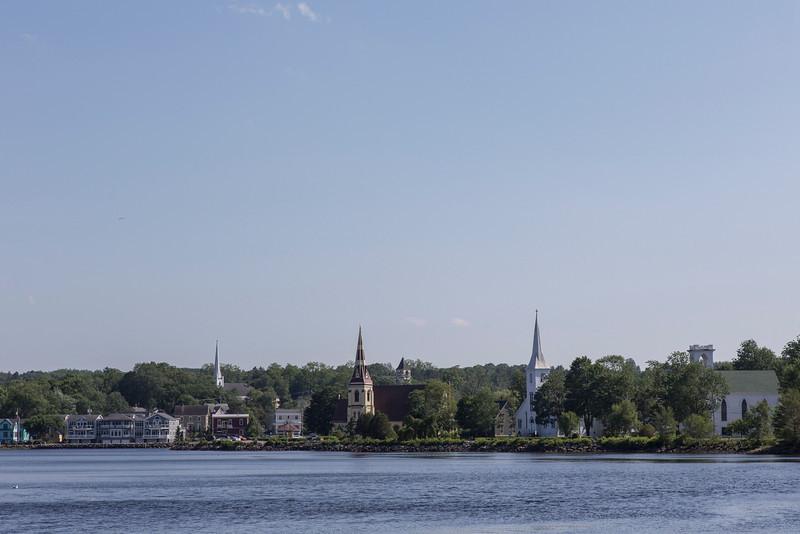 Nova Scotia shore.