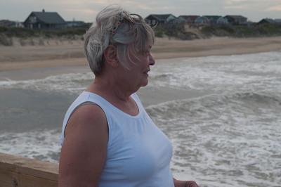 Joan on Nags Head, NC pier