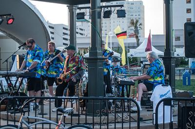 Band on Virginia Beach Boardwalk