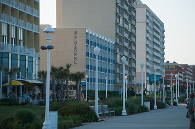 Our Hotel on Virginia Beach Boardwalk