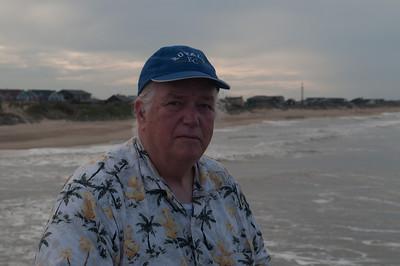 Frank on Nags Head, NC pier