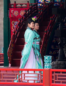 Performers on the Grand Stage, Summer Palace
