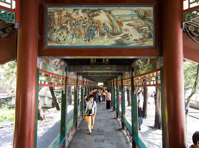 The long corridor, Summer Palace