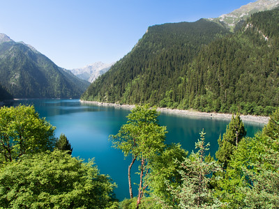 Long Lake,Jiuzhaigou National Park, Sichuan Province