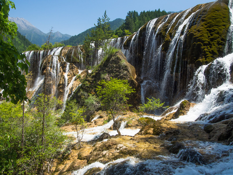 Pearl Shoal and Waterfall, Jiuzhaigou