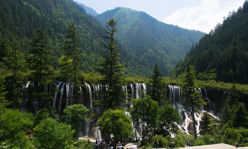 诺日朗 waterfall, Jiuzhaigou National Park, Sichuan Province