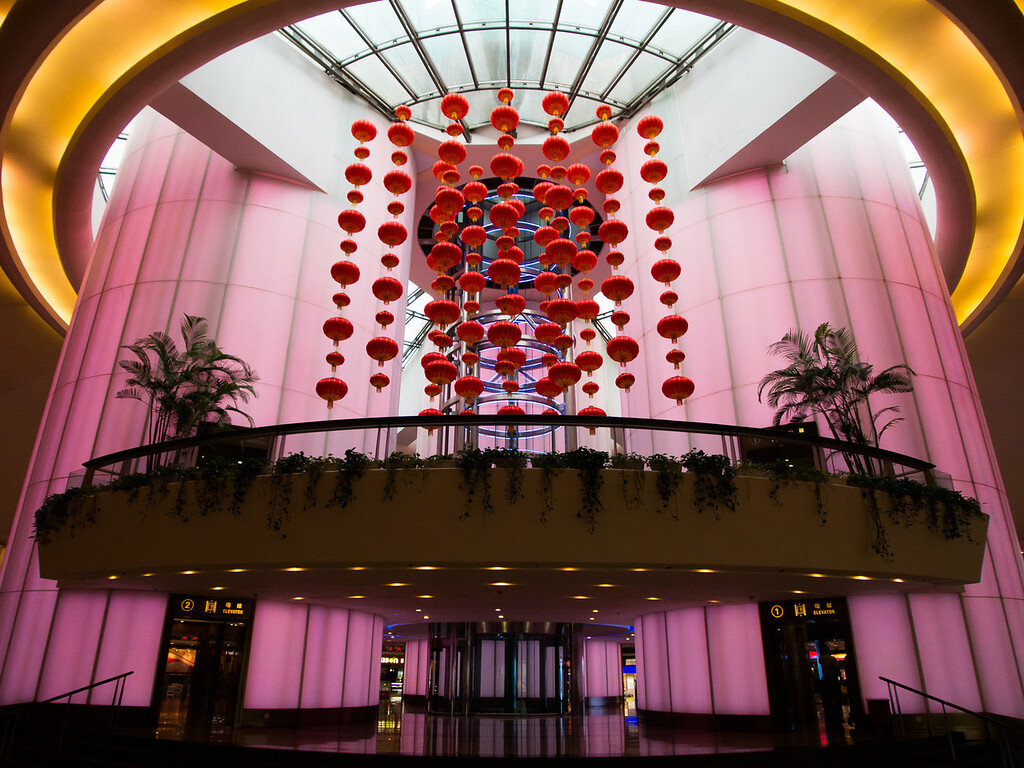 lobby of Pearl Tower