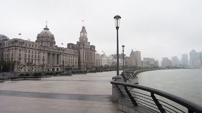 The Bund, early morning