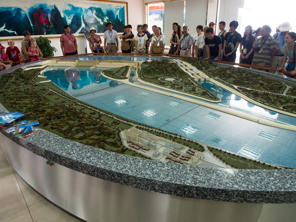 Model of Three Gorges Dam