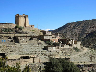 same one,  Upper Amezary village and the Igherm