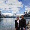The views certainly make for a beautiful backdrop at Lake Minnewanka