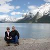 Becki and Gary at Lake Minnewanka