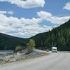 Scenes along the Loop Drive at Lake Minnewanka