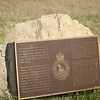 Marker for the Banff National Army Cadet Camp.  The Camp was located here from 1949-1998.