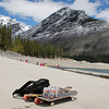 Bow Valley Lager was popular with the skateboarders at Lake Minnewanka