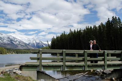 Becki and Gary at Johnson Lake