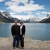 Gary and Becki at Lake Minnewanka