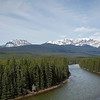 Bow River near Storm Mountain