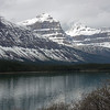 Mount Chephren and Lower Waterfowl Lake