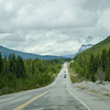 Scene along the Icefields Parkway