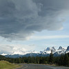 On Trans-Canada Highway heading back to Canmore