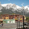 Canmore is surrounded mountains