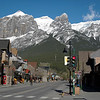 Street scene in Canmore