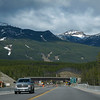 Heading back to Canmore through Banff