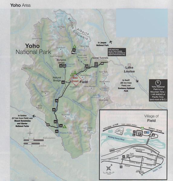 Exploring Yoho National Park