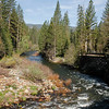 View of South Fork Merced River from the bridge