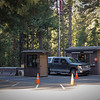 Driving by the South Entrance Gate on the way to Wawona Section