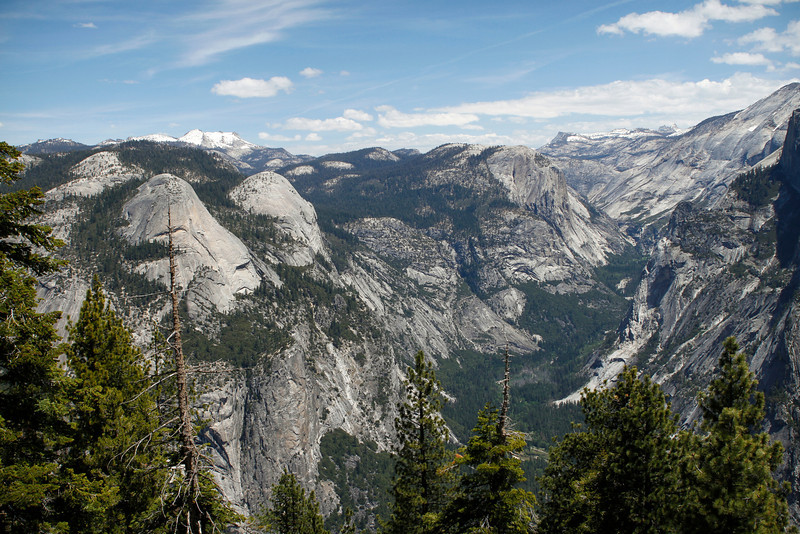 Merced River Canyon View from Glacier Point