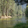 Merced River in Devils Elbow area