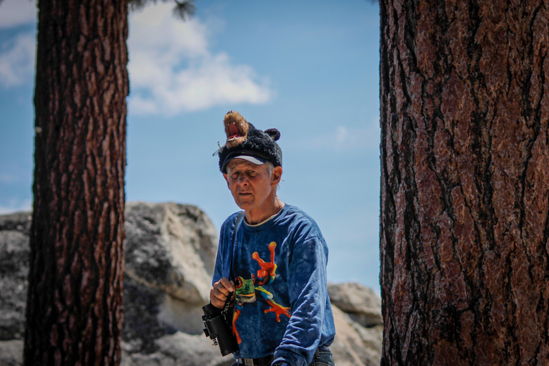 Lots of characters could be seen at Glacier Point.  Great for people watching too.