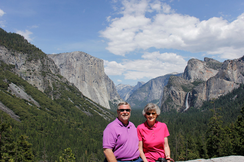 Scene at the Tunnel View