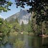 View of Merced River near Devils Elbow and El Capitan Picnic Area