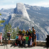 Lots of photo opportunities of Half Dome at Washburn Point