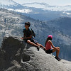 Checking out the views at Glacier Point