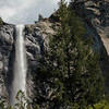 Beautiful Waterfall in Yosemite Valley