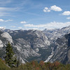 View of Merced River Canyon at Glacier Point