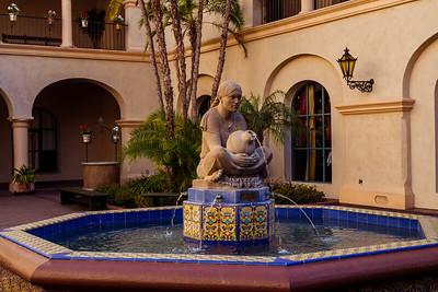 A fountain in Balboa Park in San Diego, California