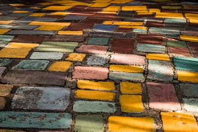 Cobblestones at Balboa Park