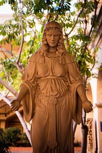 A statue in Balboa Park
