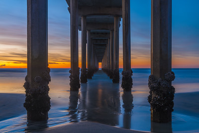 Under Scripps Pier - La Jolla, California