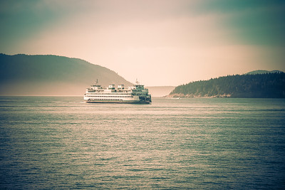 Washington State Ferry on the Anacortes/San Juan Island Run