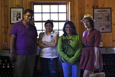 With our winery tour guide