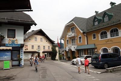 Sankt Gilgen, Austria, August 2013